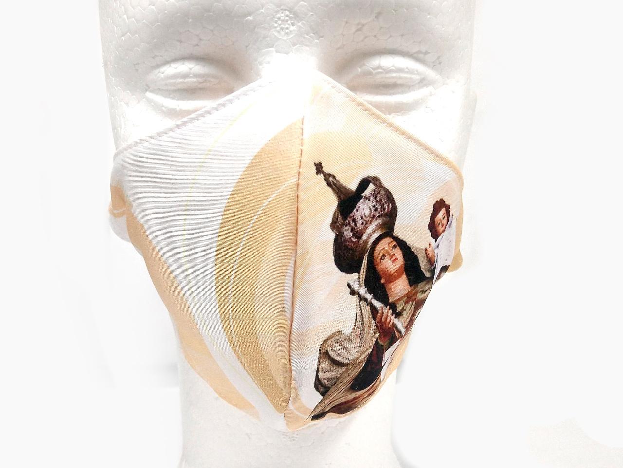 Máscara de Proteção Bico de Pato (EPI) - Nossa Senhora do Carmo 2021