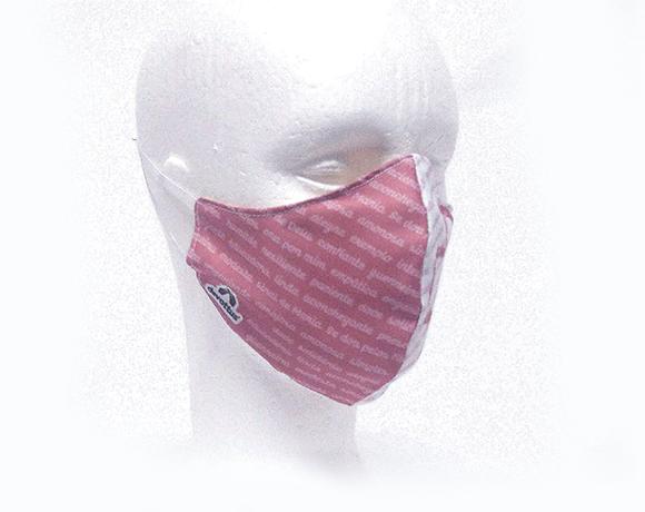 Máscara de Proteção Bico de Pato (EPI) - Valor de Mãe (Salmão)