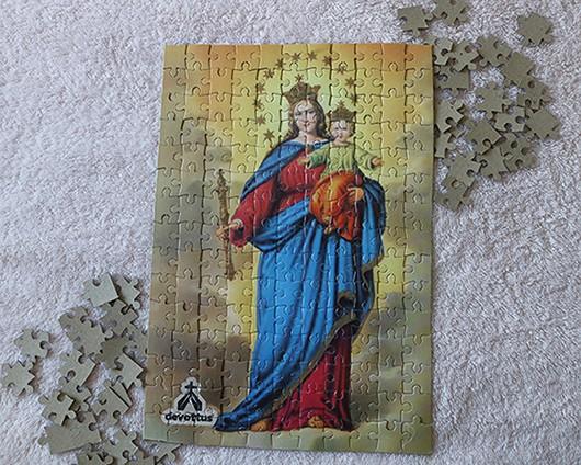 Quebra-Cabeça (42 x 29 cm) - Nossa Senhora Auxiliadora