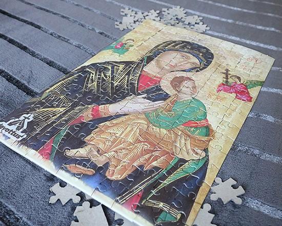 Quebra-Cabeça (42 x 29 cm) - Nossa Senhora do Perpétuo Socorro