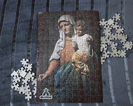 Quebra-Cabeça (42 x 29 cm) - Nossa Senhora do Rosário