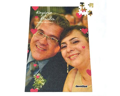 Quebra-Cabeça Dia dos Namorados