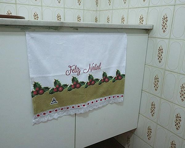 Toalhinhas Decorativas - Natal - Folhas