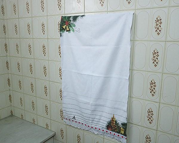 Toalhinhas Decorativas - Natal - Sino e Vela