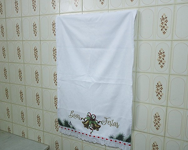 Toalhinhas Decorativas - Natal - Sinos