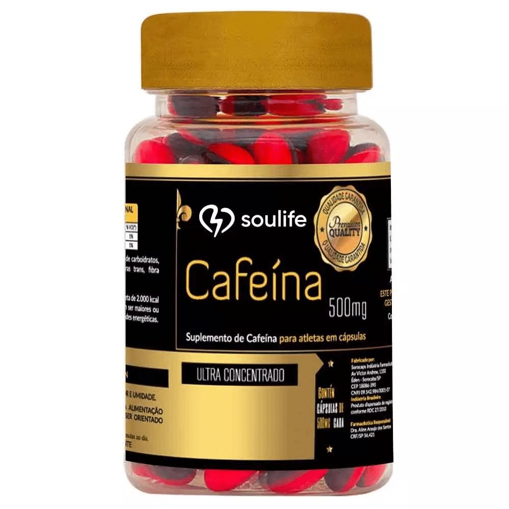 Cafeína  500mg - Soulife