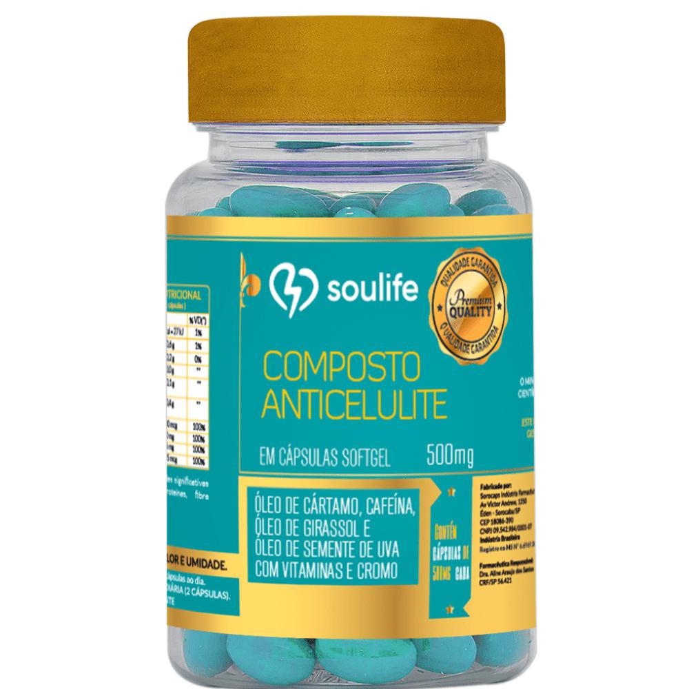 Composto Anticelulite 500mg - Soulife  - SOULIFE