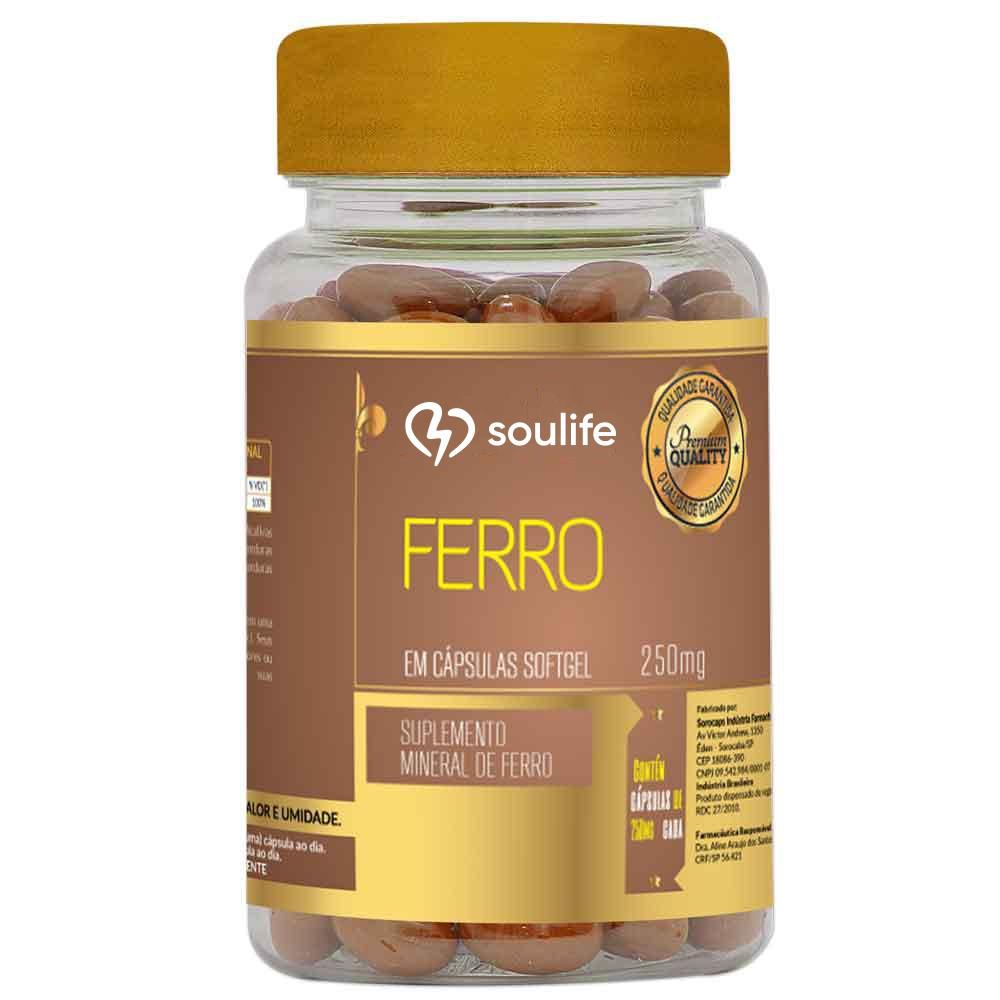 Ferro 250mg - Soulife  - SOULIFE
