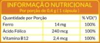 Ferro, Ácido Fólico e Vitamina B12 - Prevenção da anemia e fortalecimento do sistema imunológico - Soulife  - SOULIFE