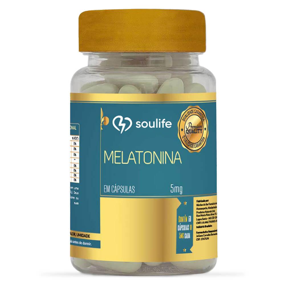 Melatonina 5mg - Soulife  - SOULIFE