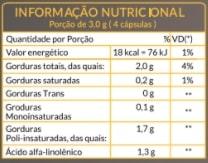 Óleo de Chia - Inibidor de apetite, anti-inflamatório e antioxidante - Soulife  - SOULIFE