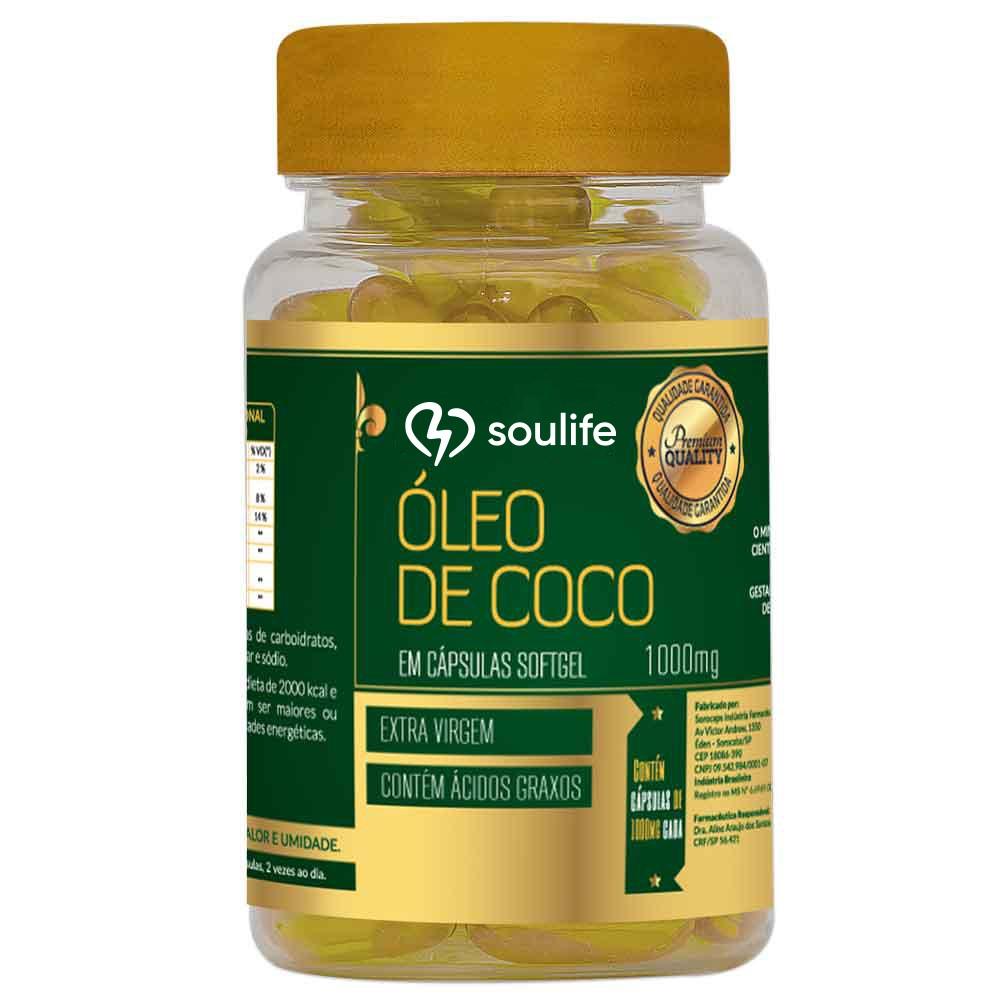 Óleo de Coco  1000mg - Soulife
