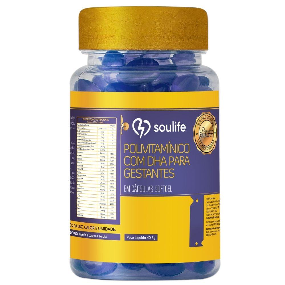 Polivitaminico Gestantes com DHA- Soulife
