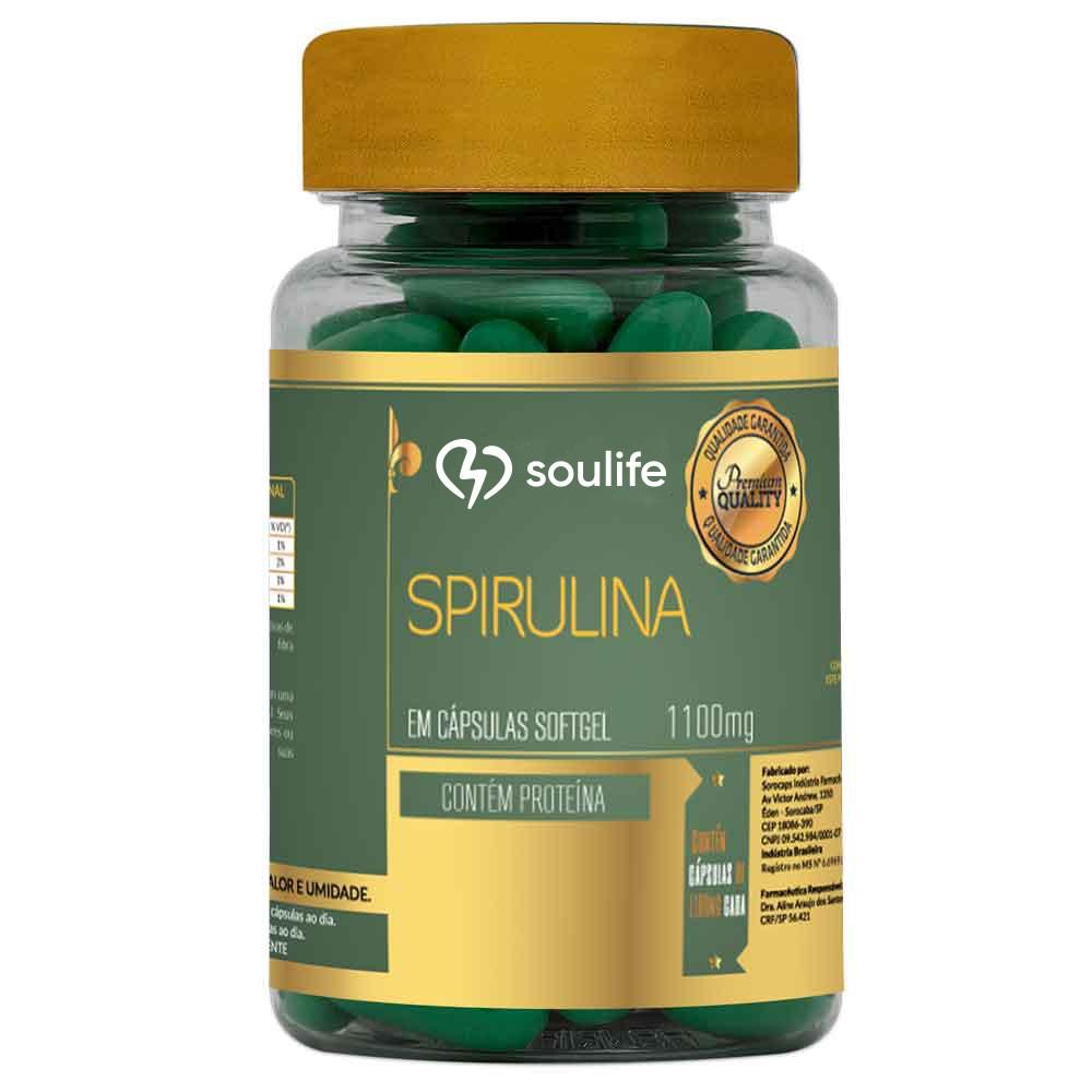 Spirulina 1100mg - Soulife  - SOULIFE