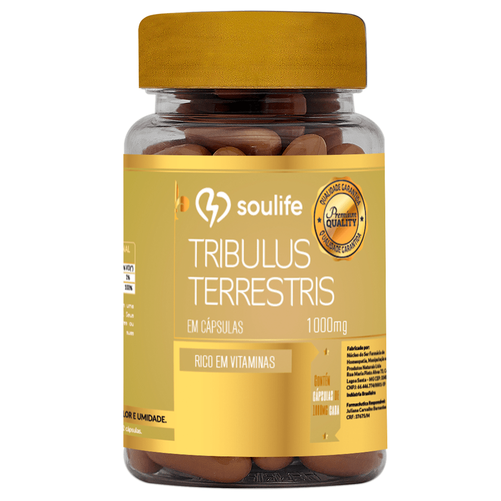 Tribulus Terrestris 1000mg - Soulife