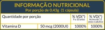 Vitamina D - Fortalecimento dos ossos e sistema imunológico - Soulife  - SOULIFE