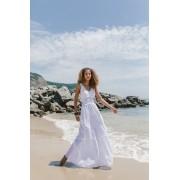 Vestido Longo Laise - Branco