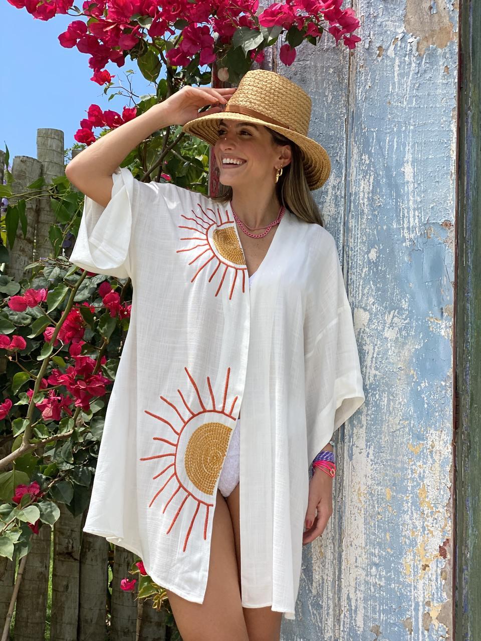 Kimono Sol - Marinho