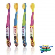 Escova Dental Flosserbrush Kids Mini Beat - Power Rockers - EDEL WHITE