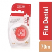 Fita Dental Encerada Easy Tape 70m - EDEL WHITE