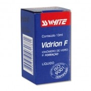 Ionômero de Vidro Forrador Vidrion F Líquido - SS WHITE