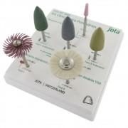 Kit Clínico para Ajuste e Polimento de Provisórios PM 1840 - JOTA