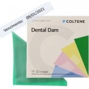 Lençol de Borracha Médio Dark Hygenic Dental Dam - COLTENE