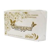 Papel Toalha Interfolha 2 Dobras 20X20cm CX 1000 FL - OUROPPEL