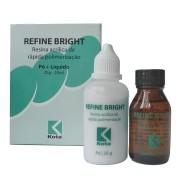 Resina Acrílica Refine Bright Kit Com Pó e Líquido - KOTA