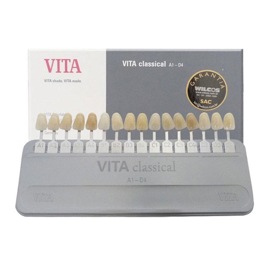 Escala de Cores Vita Classical - WILCOS  - CD Dental