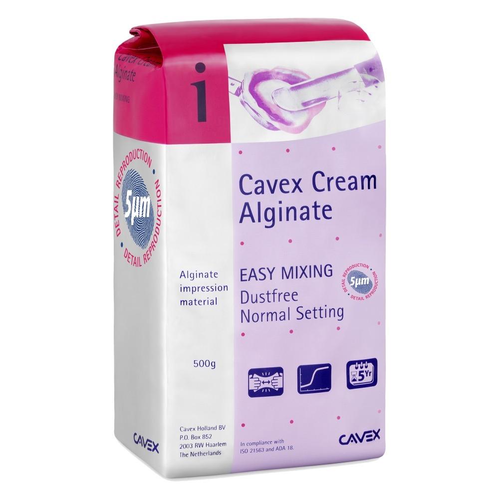 Alginato Cavex Cream 500g - DENTAL NEWS  - CD Dental