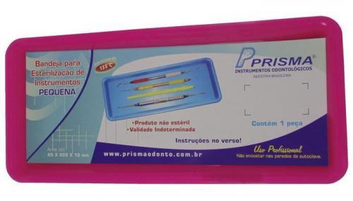 Bandeja para Esterilização de Instrumentos Rosa Cítrico - PRISMA  - CD Dental