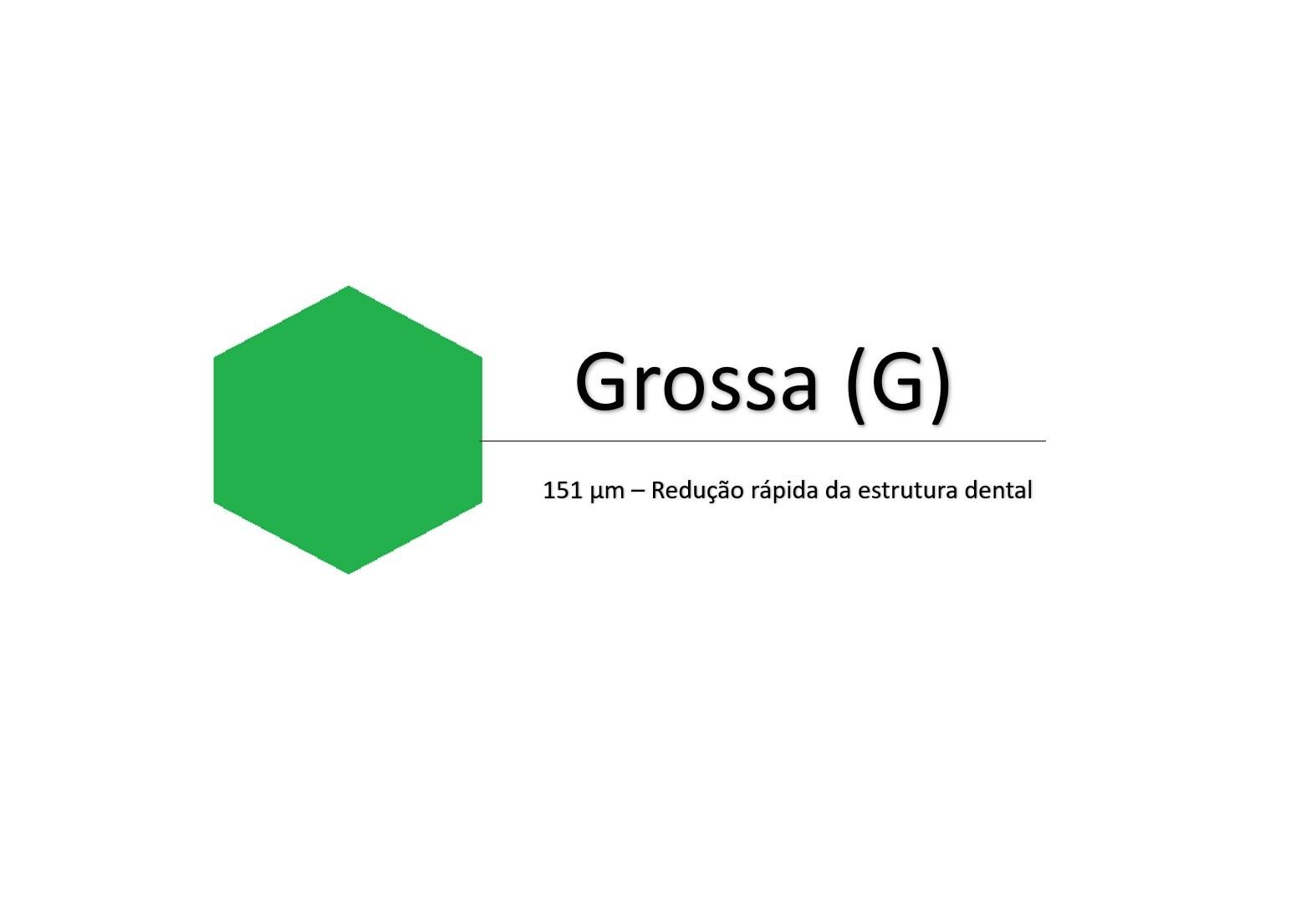 Broca Carbide FG - Acabamento e Refinamento 19mm(Verde) - PRIMA DENTAL   - CD Dental