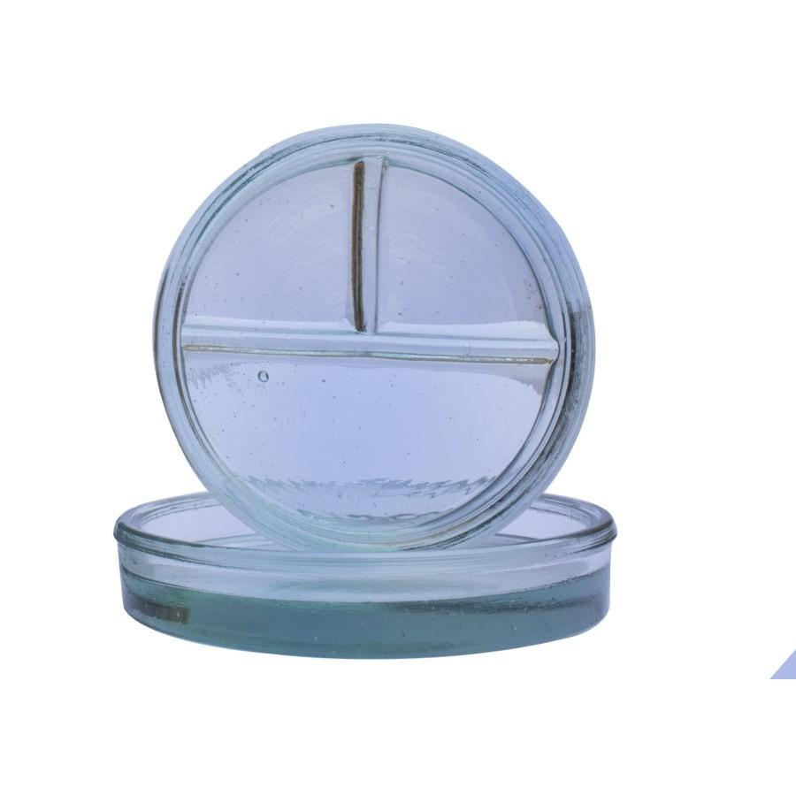 Cápsula Petry de Vidro com 3 Divisões - PREVEN  - CD Dental