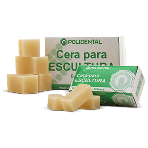 Cera para Escultura 72g c/10 Blocos - POLIDENTAL  - CD Dental