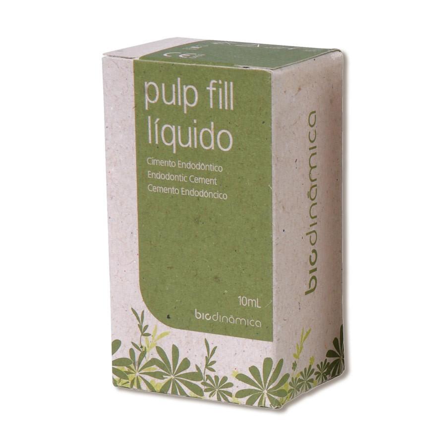 Cimento Endodôntico Pulp-Fill Líquido - BIODINÂMICA  - CD Dental