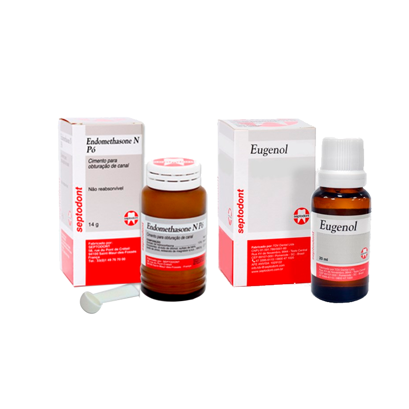 Cimento Endomethasone N - Pó - Brinde Eugenol -SEPTODONT  - CD Dental