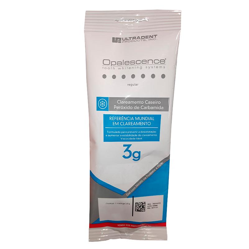 Clareador Opalescence 10% PF Regular Com 1 Seringa 3g - ULTRADENT  - CD Dental