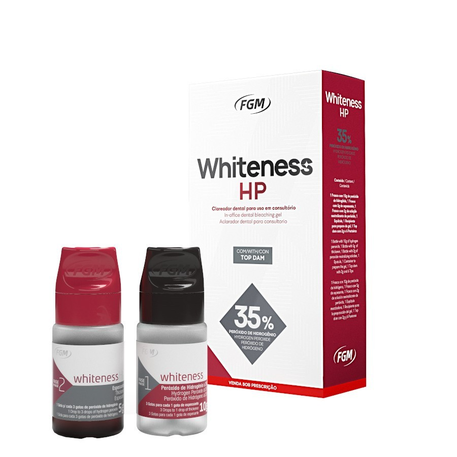 Clareador Whiteness HP 35% - FGM  - CD Dental