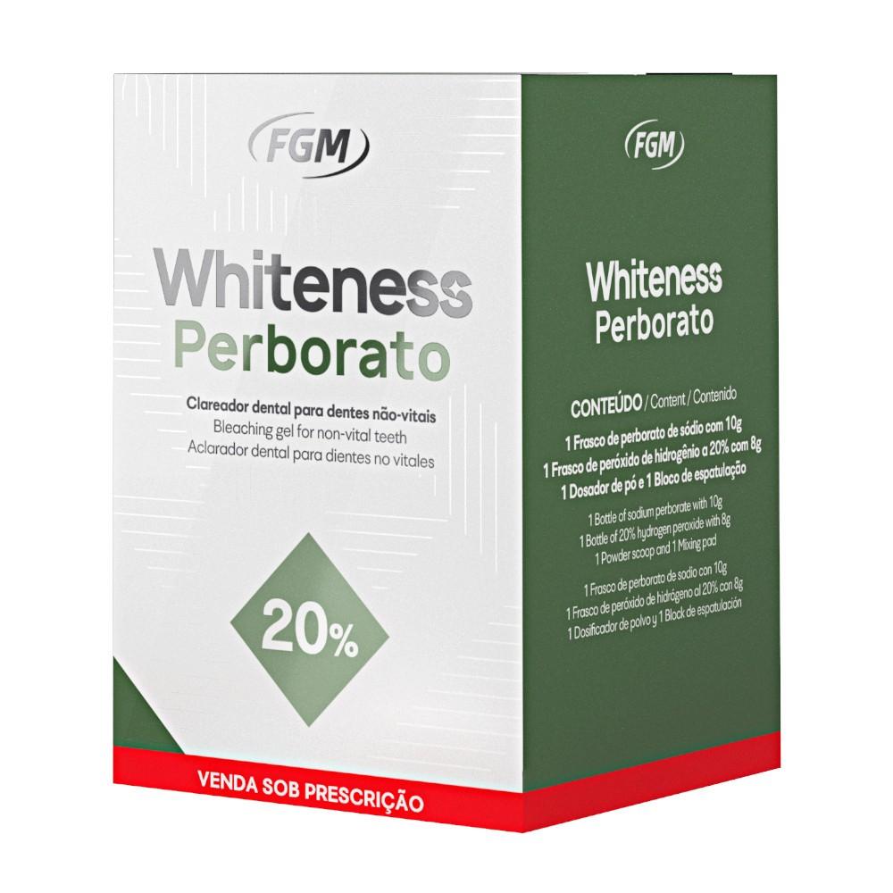 Clareador Whiteness Perborato 20% - FGM  - CD Dental