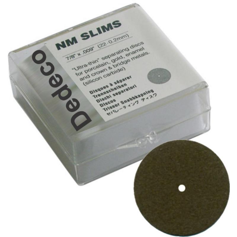Disco de Corte 5172 Ultra Fino Tipo Asa de Barata -  DEDECO  - CD Dental