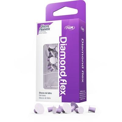 Disco de Feltro Diamond Flex 8/12 - FGM  - CD Dental