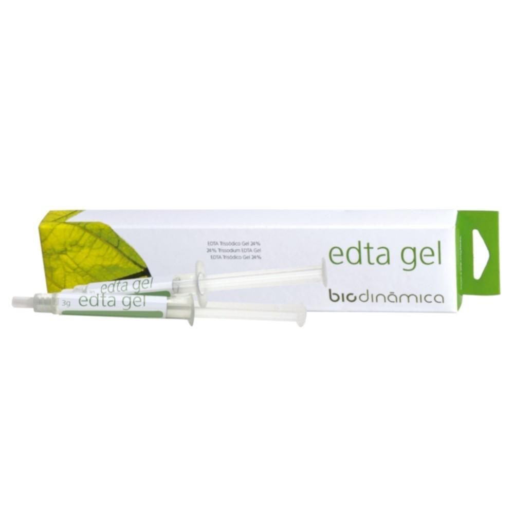 EDTA Trissodico Gel 24% Com 2 Seringas - BIODINAMICA  - CD Dental