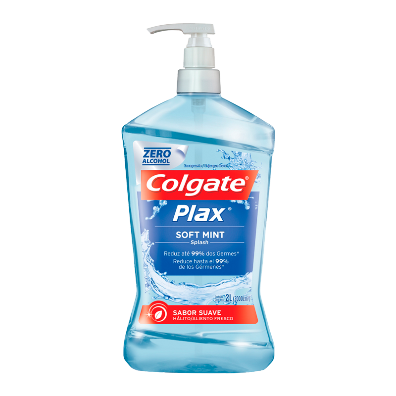 Enxaguante Bucal Plax Soft Mint - 2l - COLGATE  - CD Dental