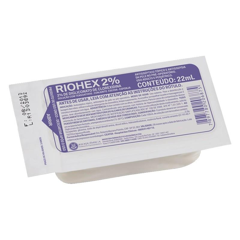 Escova de Assepsia Riohex Scrub 2% - RIOQUÍMICA  - CD Dental