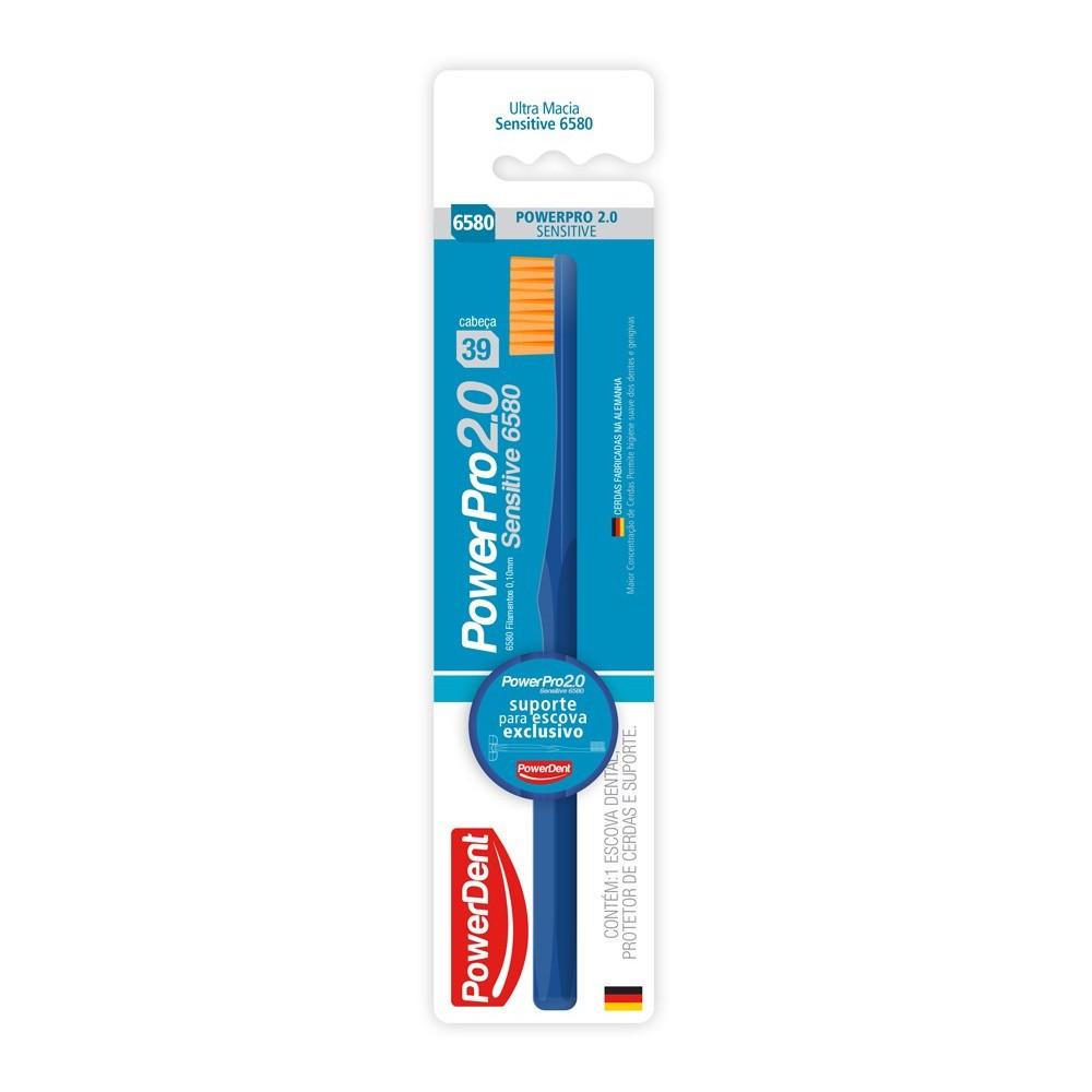 Escova Dental PowerPro 2.0 Sensitive 6580 - POWERDENT  - CD Dental