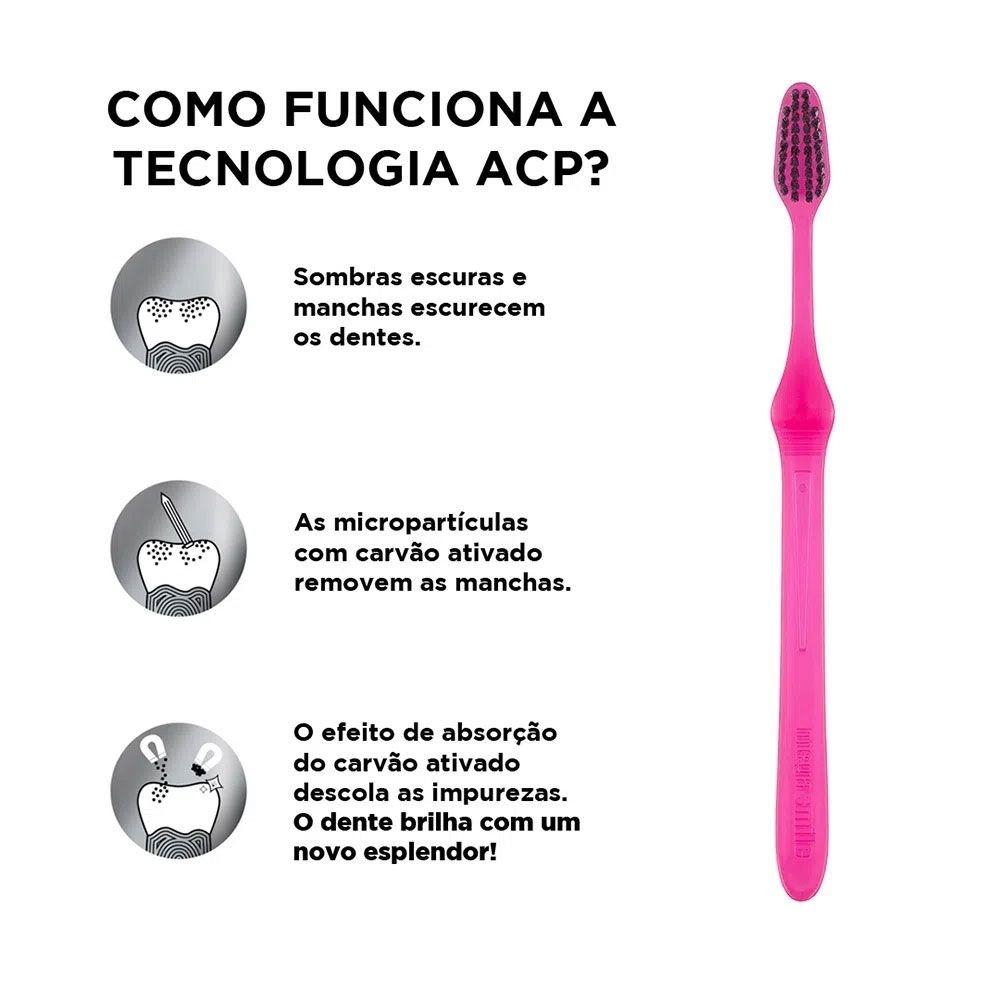 Escova Dental Soft Whitening Duo - MEGASMILE  - CD Dental