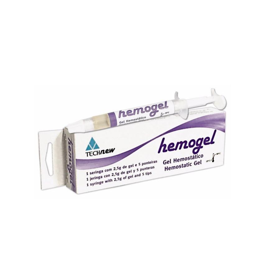 Gel Hemostático Hemogel - TECHNEW  - CD Dental