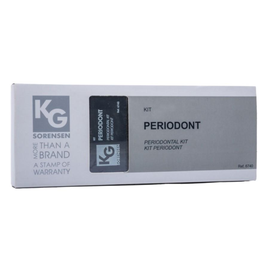 Kit de Pontas Diamantadas para Periodont - Ref. 6740 - KG SORENSEN  - CD Dental