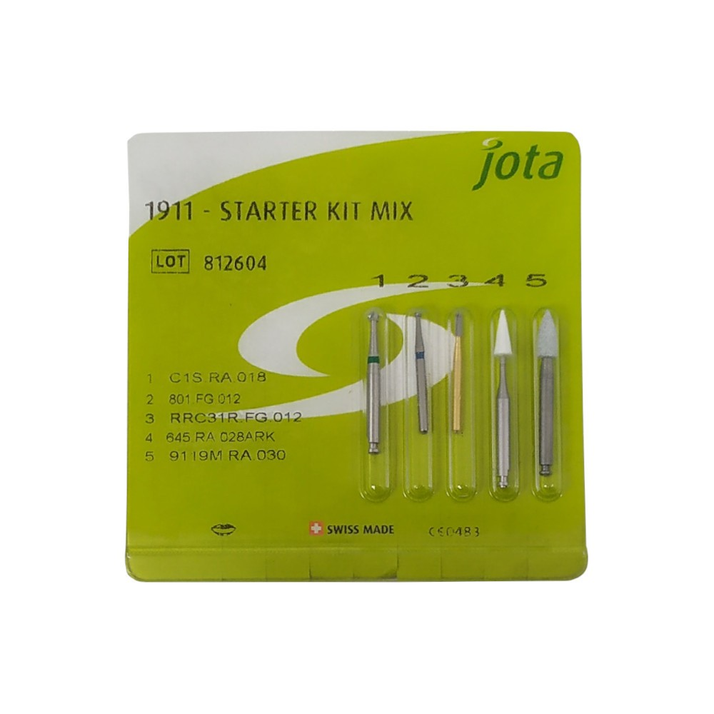 Kit De Pontas Starter Kit Mix 1911 - JOTA  - CD Dental